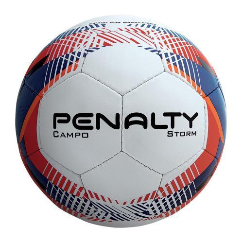 1d6c185c6f Bola de Futebol de Campo Penalty Storm Branca (Costurada à Mão)