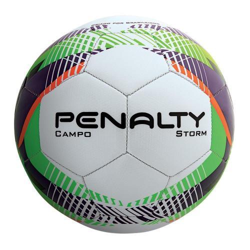 f3d70c5e1d Bola de Futebol de Campo Penalty Storm Branca