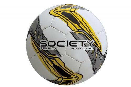 2ca91fc2af Bola de Futebol Society Penalty Indestrutível (Costurada à mão)
