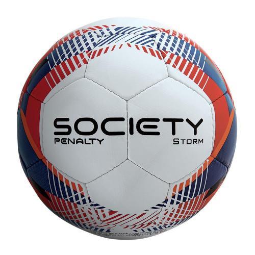 fe7232b3ba Bola de Futebol Society Penalty Storm (Costurada à Mão)