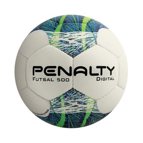 Bola de Futsal Penalty Digital 500 C C (Costurada à Mão) ... a50b212ab5098