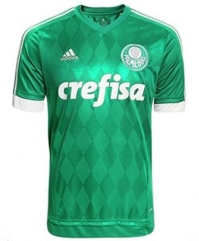 Camisa Adidas Palmeiras I 2015 Adulto (Sem Número) ... 4eaca635b5b89