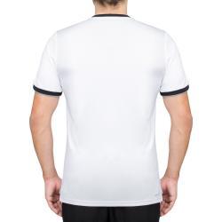 15a04b2b81 Camiseta Nike Court Dry Tennis Branca e Preta 830927-100   Masculino   Sua  loja online de artigos esportivos - Fantastic Sports