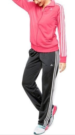 cd1424c9945 Agasalho Adidas Rosa c  Cinza   Feminino   Sua loja online de ...