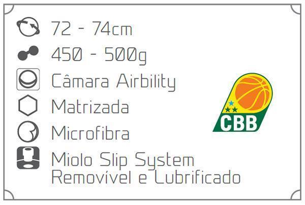 91c5071f6 Bola de Basquete Penalty Pró 5.7 Oficial Mirim
