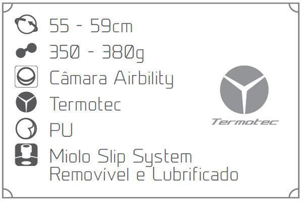 28698bcedacf1 Bola de Futsal Penalty Max 200 Termotec Sub-13
