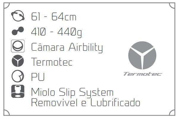 Bola de Futsal Penalty Max 400 Termotec c2b72ae3983f3