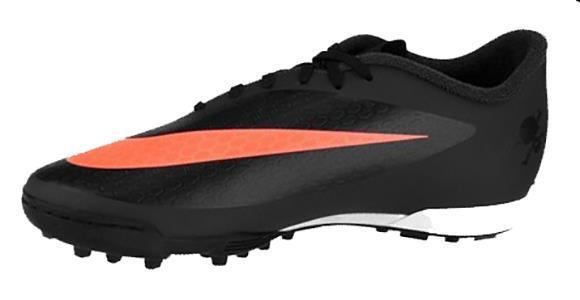 Chuteira Nike Hypervenom Phade TF Society Preta 864329fb6c83b