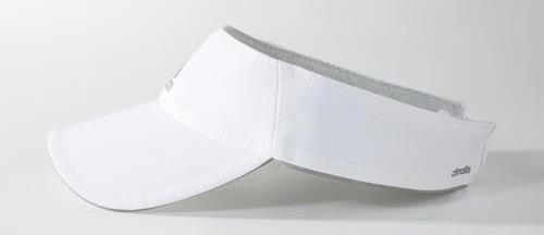 ... Viseira Adidas Running Climalite Branca S22645 ... 8f5be18b73b