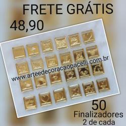 58d57ea17 KIT 50 FINALIZADORES ( COM 2 MODELOS DE CADA)
