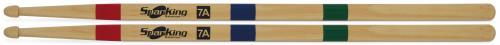 Baqueta Spanking Linha Educativa 7A Clássica com Identificação das Partes da Baqueta (113265)