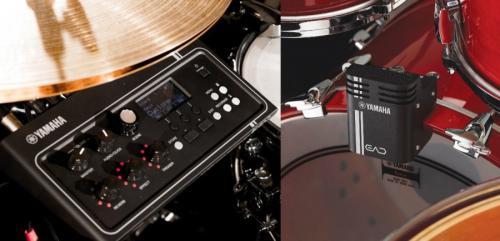 Módulo Yamaha EAD10 com Trigger que Digitaliza o Som da Bateria Acústica, Adiciona Efeitos, Gravação