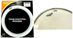 Abafador de Caixa Remo Tone Control Rings RO-0014 com 2 anéis para colocar sobre a pele (10518)