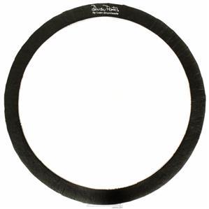 """Abafador de Tambores Luen Dudu Portes Muffle Ring Black 14"""" para colocar sobre a pele (1800614)"""