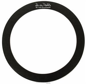 """Abafador de Tambores Luen Dudu Portes Muffle Ring Black 10"""" para colocar sobre a pele (1800610)"""