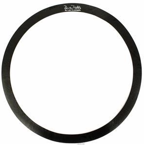 """Abafador de Tambores Luen Dudu Portes Muffle Ring Black 16"""" para colocar sobre a pele (1800616)"""