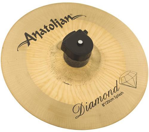 "Splash Anatolian Diamond Hybrid 08"" Handmade Turkish"