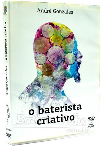 DVD O Baterista Criativo com André Gonzales 2 bumbos, viradas, cantando na bateria, dinâmica, etc
