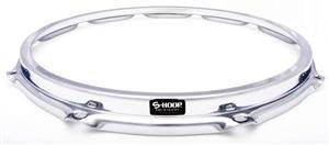 """Aro de Caixa S-Hoop Drum Hoops 14"""" com 10 Afinações Batedeira com Borda Curvada e Rimshot Poderoso"""