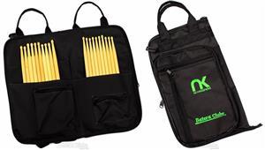 Bag de Baquetas NK NewKeepers MaxiPro em Nylon Balístico Tamanho Extra Grande Padrão Top de Linha