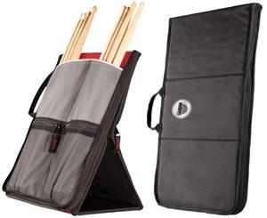 Bag de Baquetas Sabian Sitck Flip SSF12 Red Black com Fixação no Chão