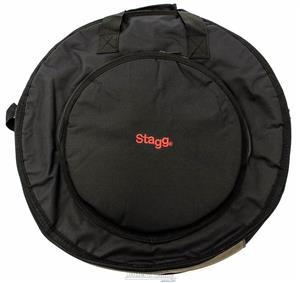 """Bag de Pratos Stagg CYB10 Deluxe Cymbal Bag para Pratos até 22"""" Padrão Top da Marca"""