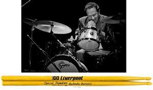 Baqueta Liverpool Special Signature Rubinho Barsotti Zimbo Trio (Padrão 7A + Fina 9A) EX-135