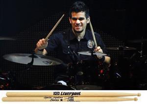 Baqueta Liverpool Special Signature Hickory Ivan Lopes (Padrão 5A) EX-178