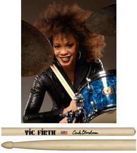 """Baqueta Vic Firth Signature Cindy Blackman """"Padrão 5A"""""""