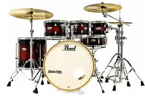 "Bateria Pearl Decade Maple High Gloss Deep Red Burst 22"",8"",10"",12"",16"" c/ Kit de Ferragens 830"