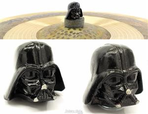 Borboleta Tribal Percussion Darth Vader Star Wars para Estantes de Prato 8mm Kit com 2 Unidades