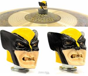 Borboleta Tribal Percussion Wolverine X-Men para Estantes de Prato 8mm Kit com 2 Unidades