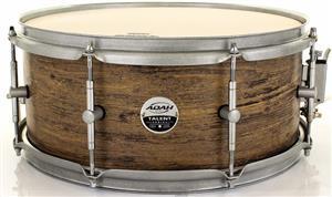 """Caixa Adah Talent Series Rustic Wood 14x6"""" com Aros 2mm e Casco em Lyptus Saligna BTSC-04101"""