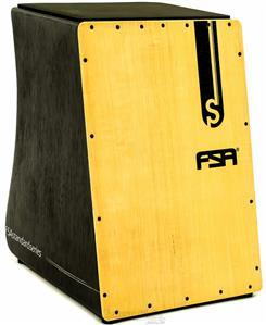 Cajón FSA Standard Series Preto FS2501 com Dupla Captação Ativa e Assento em E.V.A.