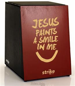 Cajón FSA Strike Series Gospel SK4014 Inclinado Acústico com Assento em E.V.A.