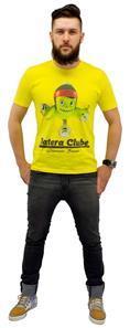 Camiseta Batera Clube by VanRock Pápururu Series Tamanho GG Amarela PPS3 em Fio 30.1 Estampa Digital