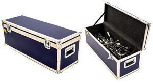 Case de Ferragens HelloCases Bravo HF90 com Rodinhas e 90cm até 50kg de Ferragens (Pronta Entrega)