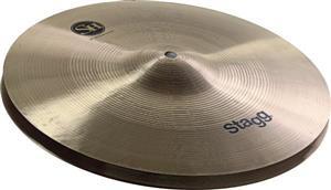 "Chimbal Stagg SH Traditional Regular Medium Hats 14"" em Bronze B20"