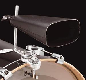 Clamp Pearl CA-130 para Fixar Cowbell e Percussão para Fixar no Aro do Bumbo