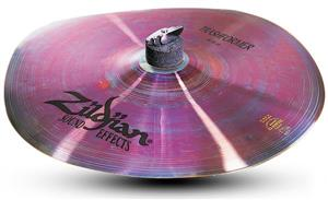 "Crash Zildjian Sound Effects Trashformer 14"" Prato de Efeito com Sonoridade Trash"