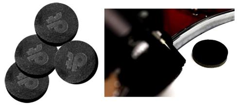 Abafador e Filtro de Tambores Drumtacs DT Polymeric Tonal Control com 4 Filtros p/ Tambores e Pratos