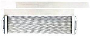 """Esteira de Caixa Luen Cromada 10"""" com 12 fios compatível com todas as marcas de caixa"""