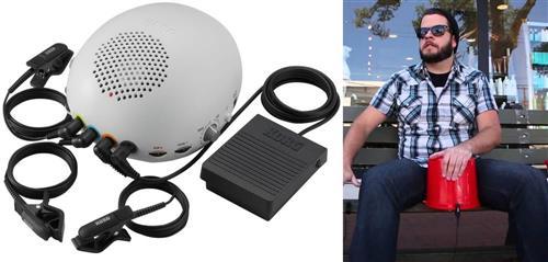 Trigger e Bateria Eletrônica Korg Cliphit CH1  tocar, captar e ter som de bateria em qualquer lugar