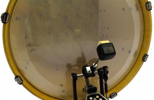 Batedor de Bumbo Odery Privilege PDB-01 Padrão Luxo com 2 Faces Feltro e Fibra