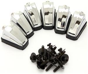 Canoa Odery FLU-BDL de Bumbo Fluence Series Kit com 6 Unidades c/ Parafusos e Tapetinho