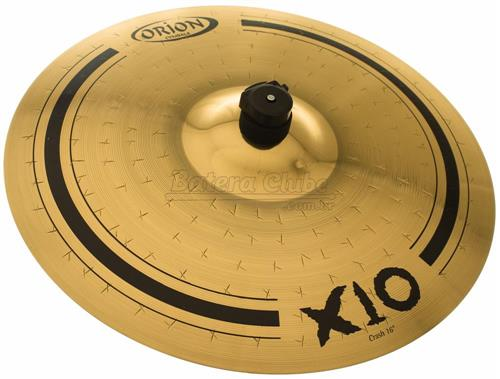 "Crash Orion X10 de 16"" SPX16CR em Bronze B10"