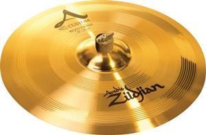"Crash Zildjian A Custom Rezo 18"" Acabamento Híbrido Fosco e Brilhante"