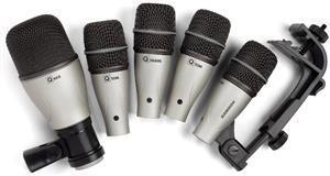 Kit de Microfones Samson DK5 Q Series com Clamps e Case Rígido