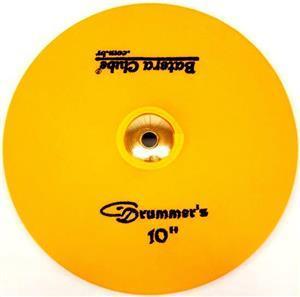 """Capa Protetora para Pratos Drummers Amarela 10"""" Signature em Algodão"""