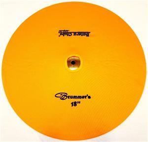 """Capa Protetora para Pratos Drummers Amarela 18"""" Signature em Algodão"""